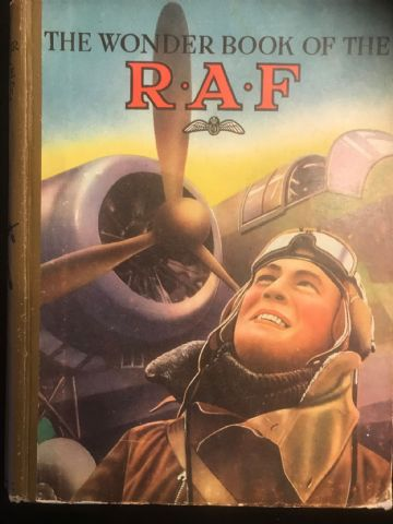 The Wonder Book of the RAF published during the 2nd World War, 1942